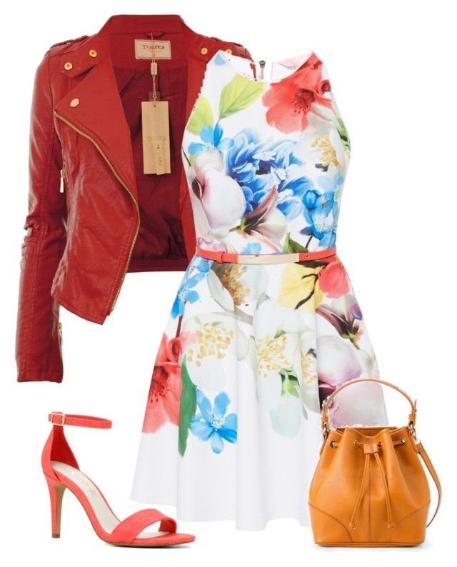 """Untitled #632"" by grateful-angel ❤ liked on Polyvore featuring Ted Baker and ALDO"