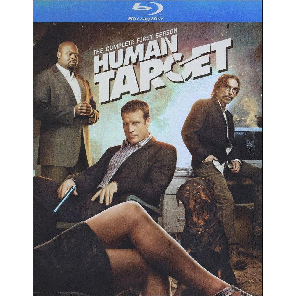Human Target The Complete First Season [2 Discs] [Bluray