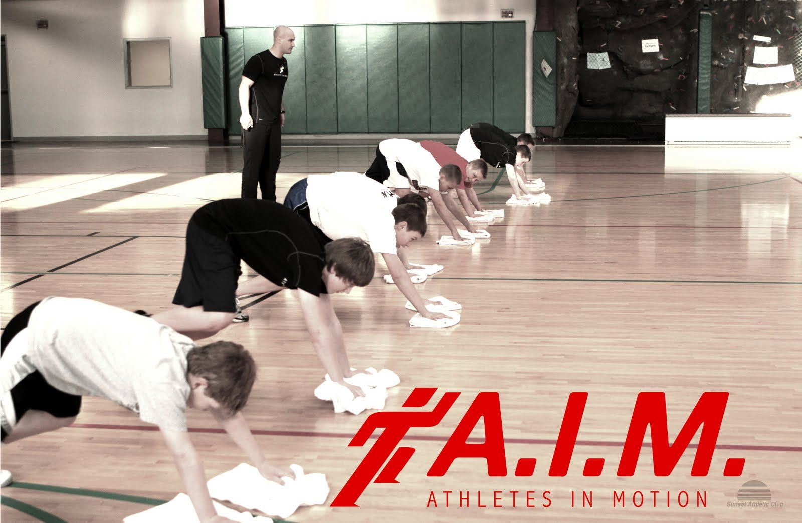 AIM Class by Athletes In Motion developed by Zane Kelly  youth