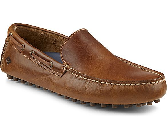 Perfect Fit Men's Sperry Hamilton Venetian II Slip on Loafers Tan