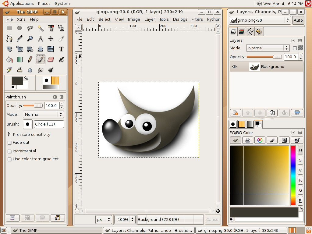 Free Software That Is As Good At Photoshop It S Called Gimp Graphic Design Programs Photo Editor Free Gimp Tutorial