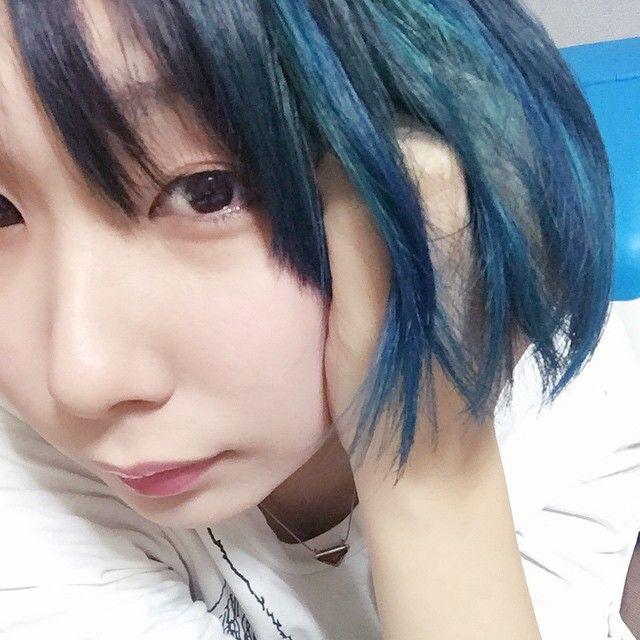 rocotasan ドラえもん 髪色 青 マニパニ enjoygram