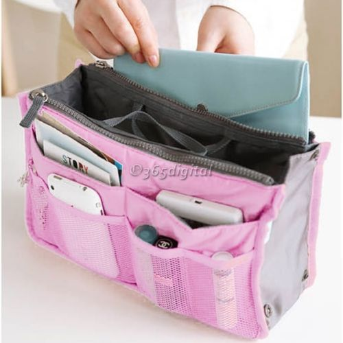 Women Travel Insert Handbag Organiser Purse liner Organizer Car Tidy Bag 35DI | eBay