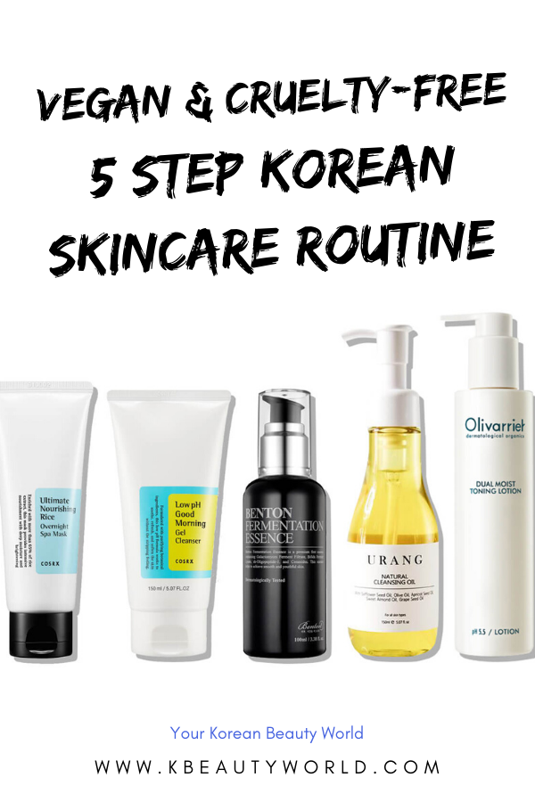5 Step Korean Skin Care Routine For Vegan Lovers In 2020 Korean Skincare Routine Skin Care Routine Skin Care