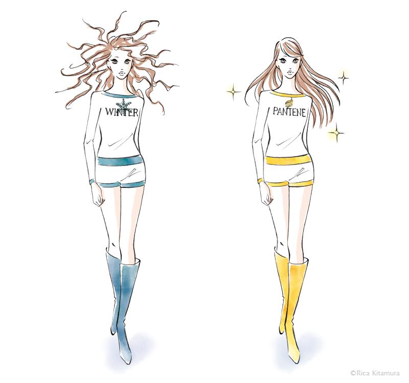 Rica Kitamura Illustration artwork
