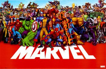 Marvel Comics Super Heroes Group Poster Available At Www Sportsposterwarehouse Com Marvel Superheroes Marvel N Dc Marvel Entertainment