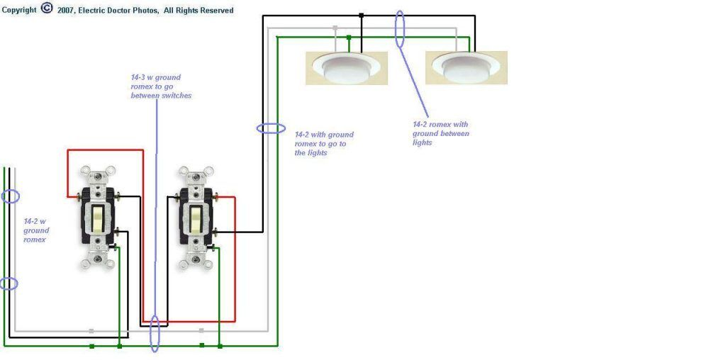 15 Clever Wiring Diagram For 3 Way Switch With 4 Lights