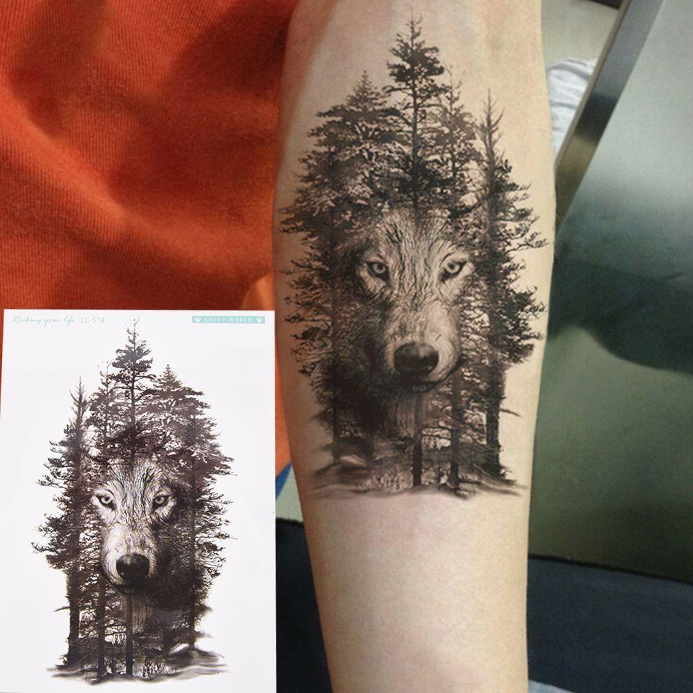 купить 1 шт 2115 см водонепроницаемый временные татуировки стикеры