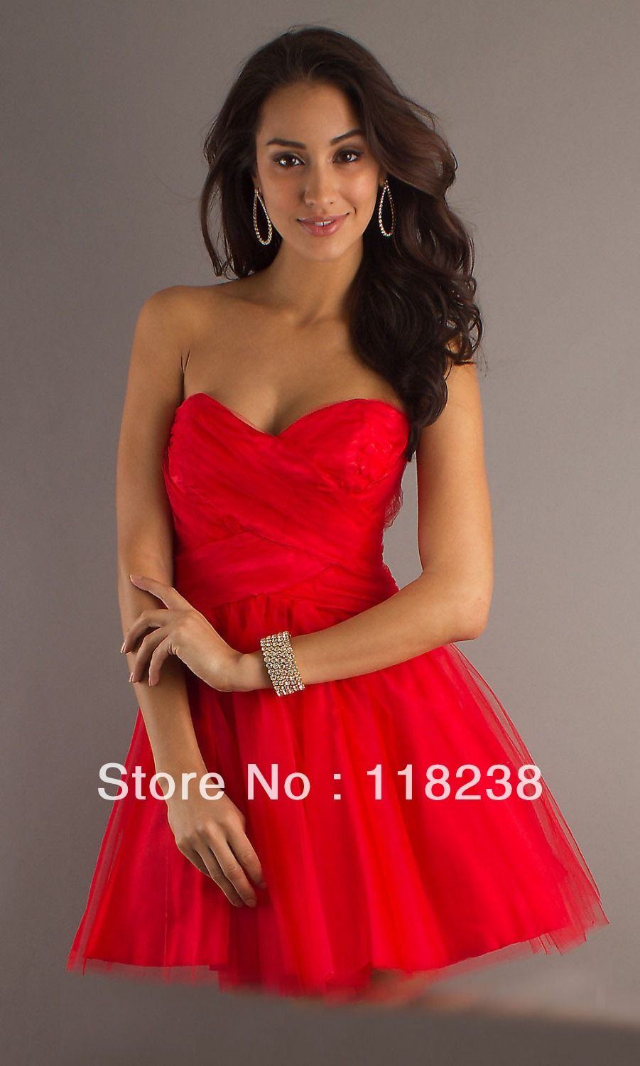 Red dresses quinceanera for damas
