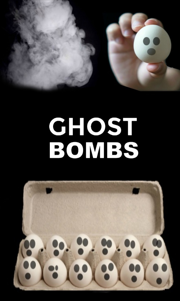 Ghost Bombs for Kids