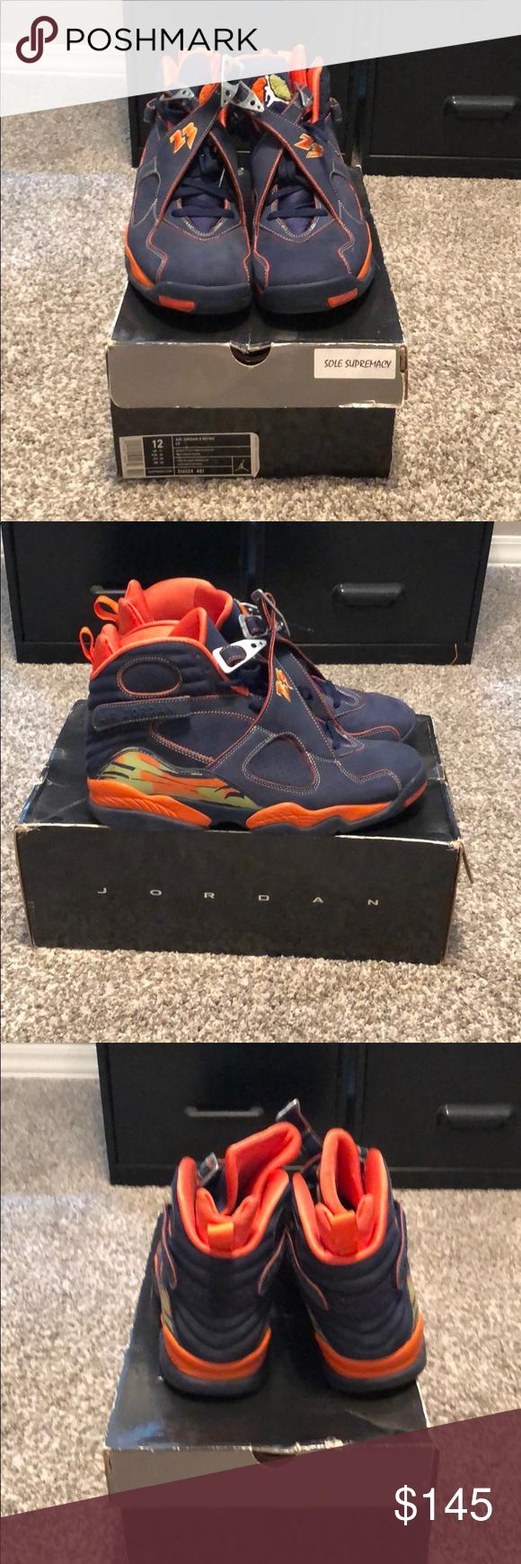 "Size 12 Air Jordan ""Pea Pod"" 8's   Air"