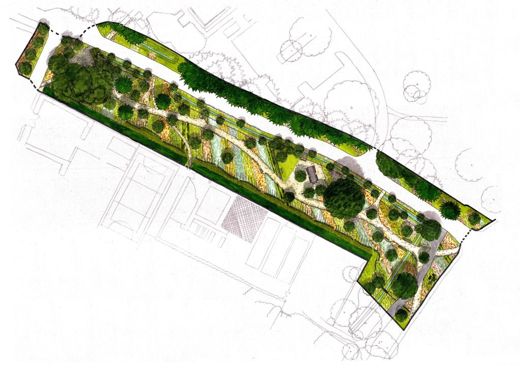 'Productive Landscapes' masterplan.