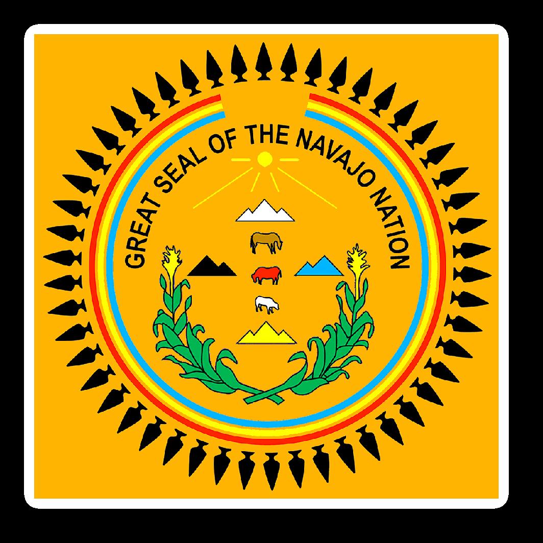 Navajo Nation Seal Sticker 3 X 4 Navajo Nation Navajo Native American