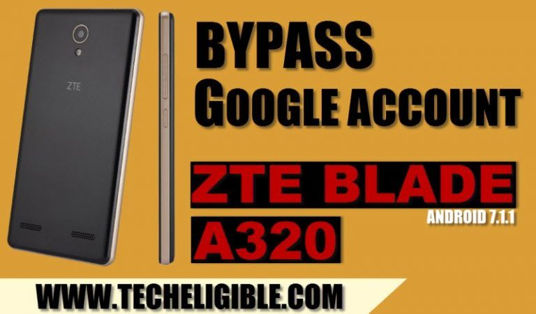 How To Bypass Google Account Zte Blade A320 Android 7 1 1 By Adb Google Account Google Custom Pc