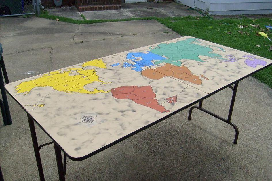 Handmade Custom RISK Table
