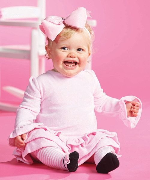 Look at this Mud Pie Pink Ruffle Dress Set - Infant on #zulily today!