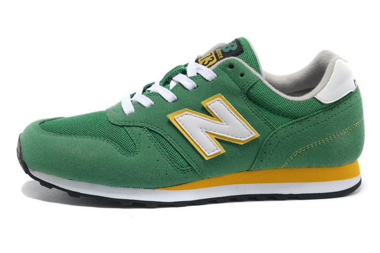 New Style New Balance 373 Men Green White Running Shoes