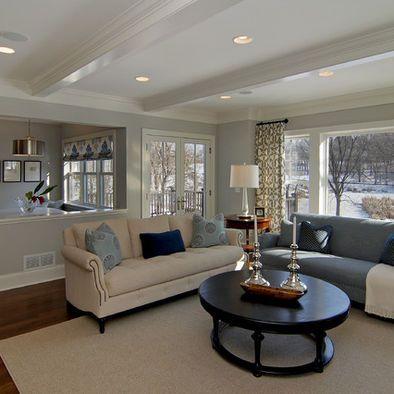 Living Room Half Walls Design, Pictures, Remodel, Decor ...