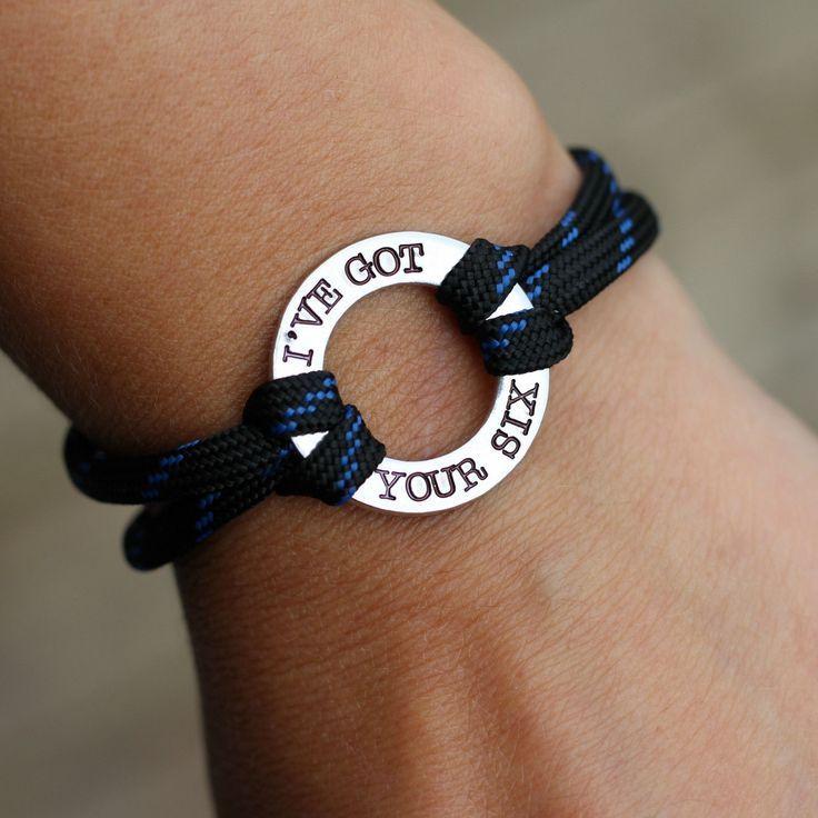 I've Got Your Six - Police Paracord Bracelet