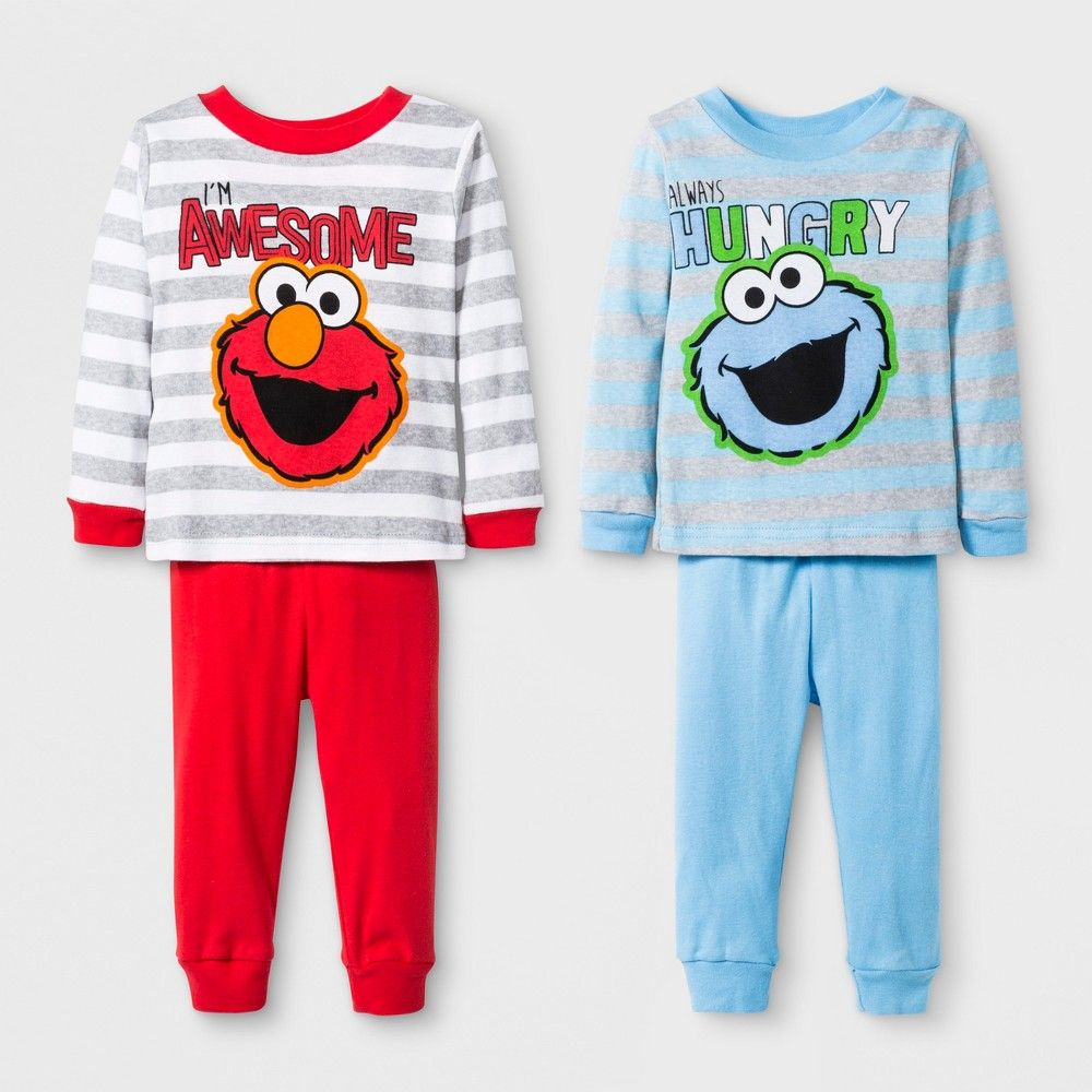 953396043d1b Keep your little one looking simply adorable with this 4-Piece Cotton  Pajama Set from