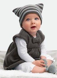 Mag. 160 - n° 10 Robe, bonnet et chaussons Bergère de France