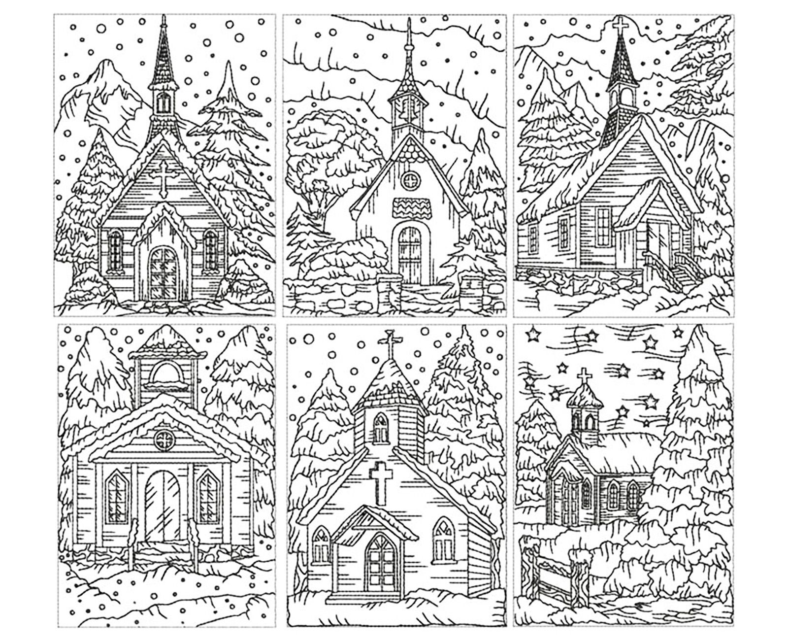 Churches Coloring Pages Adult Coloring Pages Coloring Books