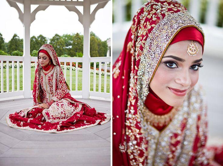 New Islamic Wedding Hijab Style