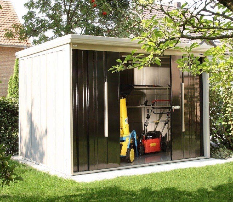 Garden Sheds 5 X 9 takubo prestige osaka 9.5ft x 7.5ft metal shed | gardens, metals