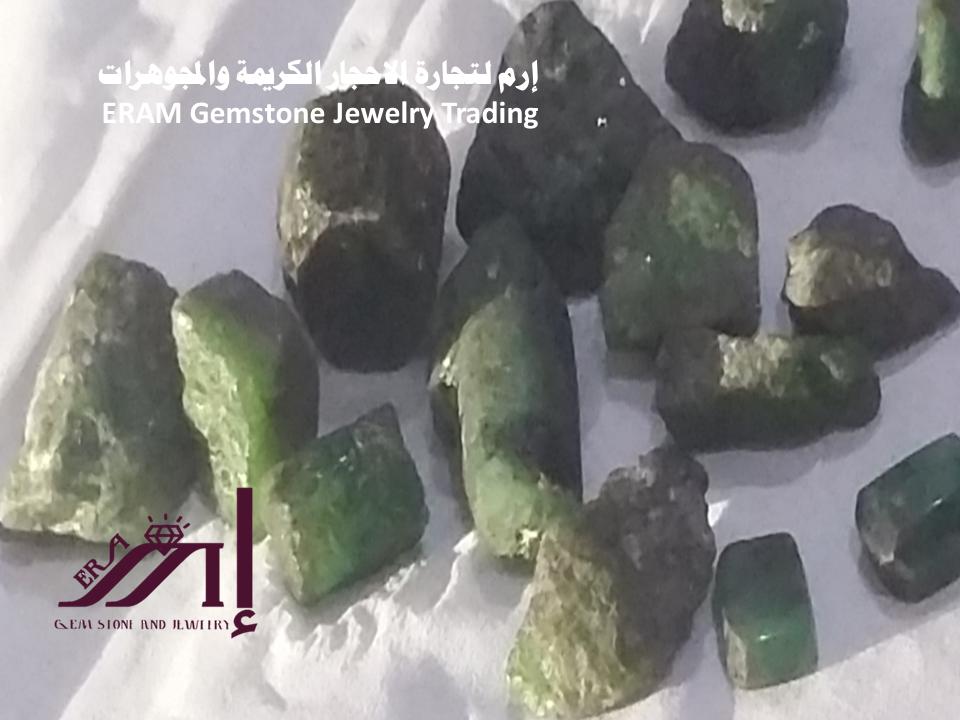 خام الزمرد اليمني الخام Emerald طبيعي 100 Gemstone Jewelry Gemstones Jewelry