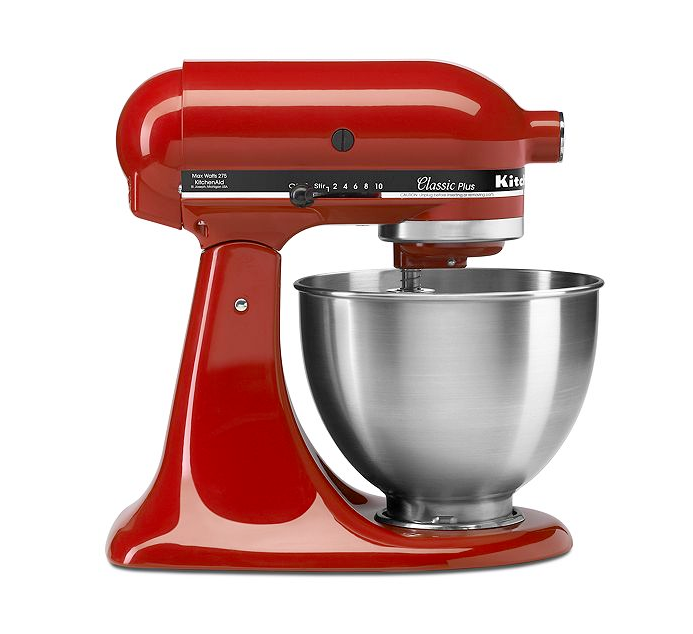 Kitchenaid Ksm75er Stand Mixer 4 5 Qt Classic Plus Tilt Head At Macy S For 169 99 With Free Shipping Kitchen Aid Kitchenaid Stand Mixer Kitchen Aid Mixer