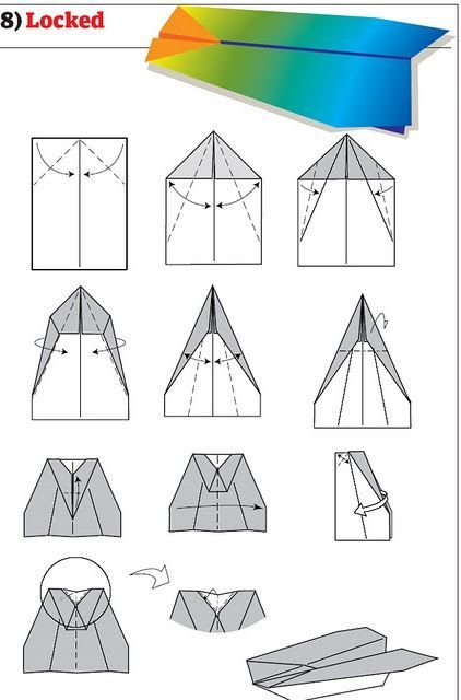 how to build cool paper planes 13 pics occupational therapy