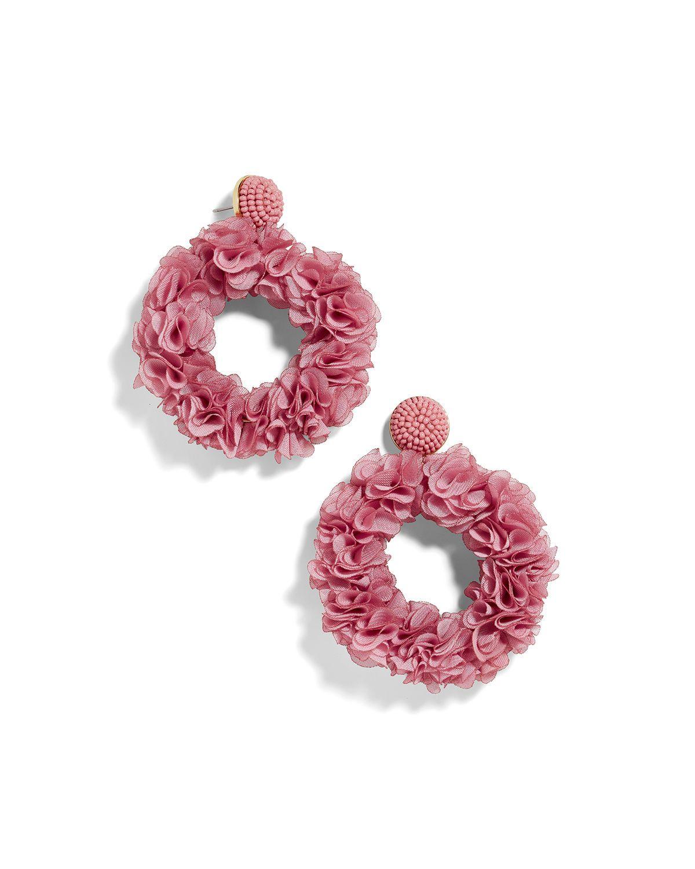 Baublebar Camellia Flower Hoop Earrings Chunky Bead Necklaces Evil Eye Earrings Earrings