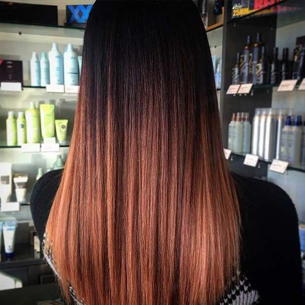 25 Copper Balayage Hair Ideas For Fall Stayglam Balayage Hair Balayage Hair Copper Ombre Hair