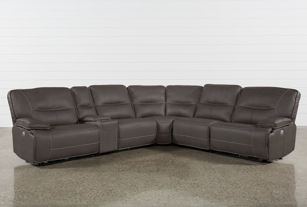 marcus grey 6 piece sectional with