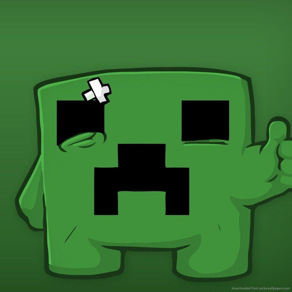 Creeper Super Meat Boy Minecraft Wallpaper Cartoon Wallpaper Hd Minecraft Images