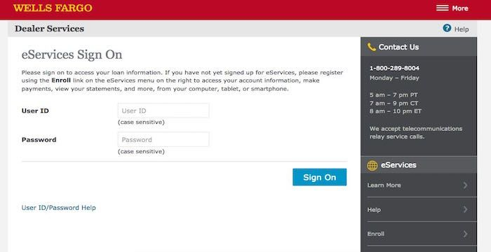wellsfargodealerservices sign in Wells Fargo Dealer Services Login | Websites | Pinterest | Wells