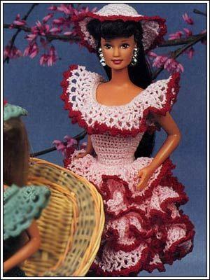 Barbie Crochet: Ashley, pattern