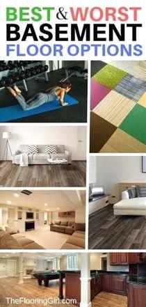 The 10 Best Basement Flooring Options The 10 Best Basement Flooring Options Basement basement flooring