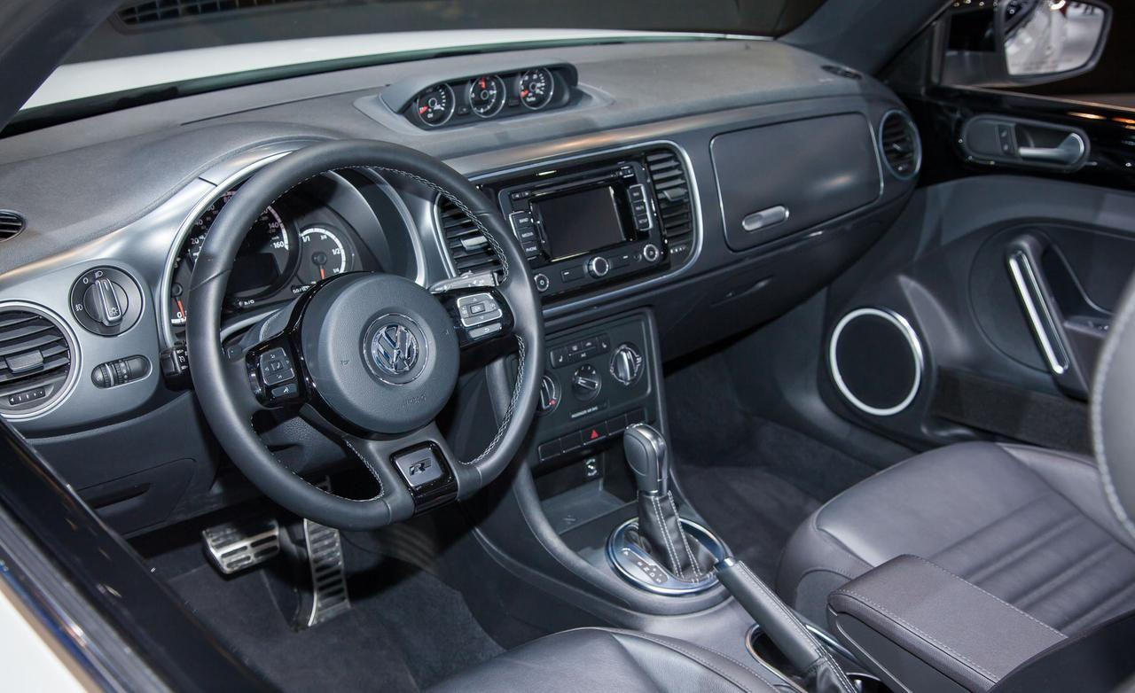 Volkswagen beetle 2014 volkswagen beetle convertible r line interior