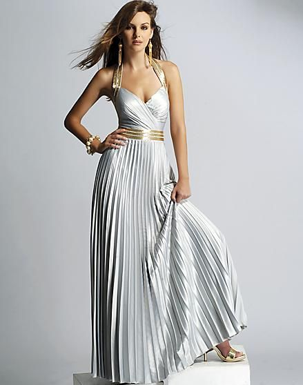 Greek Goddess Gown | Greek Goddess Prom Dress Greek goddess pleated ...