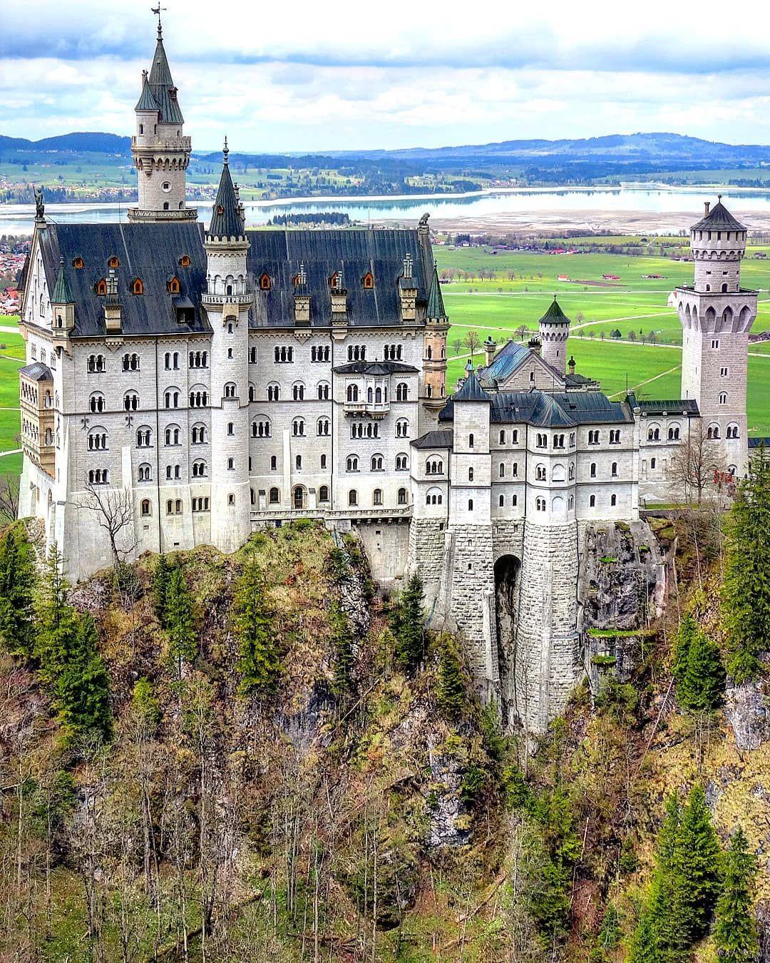 Nueschwanstein Castle Bavaria Germany Zamok Nojshvanshtajn Bavariya Germaniya Germany Castle Sc Zamok Nojshvanshtajn Bavariya Krasivye Mesta