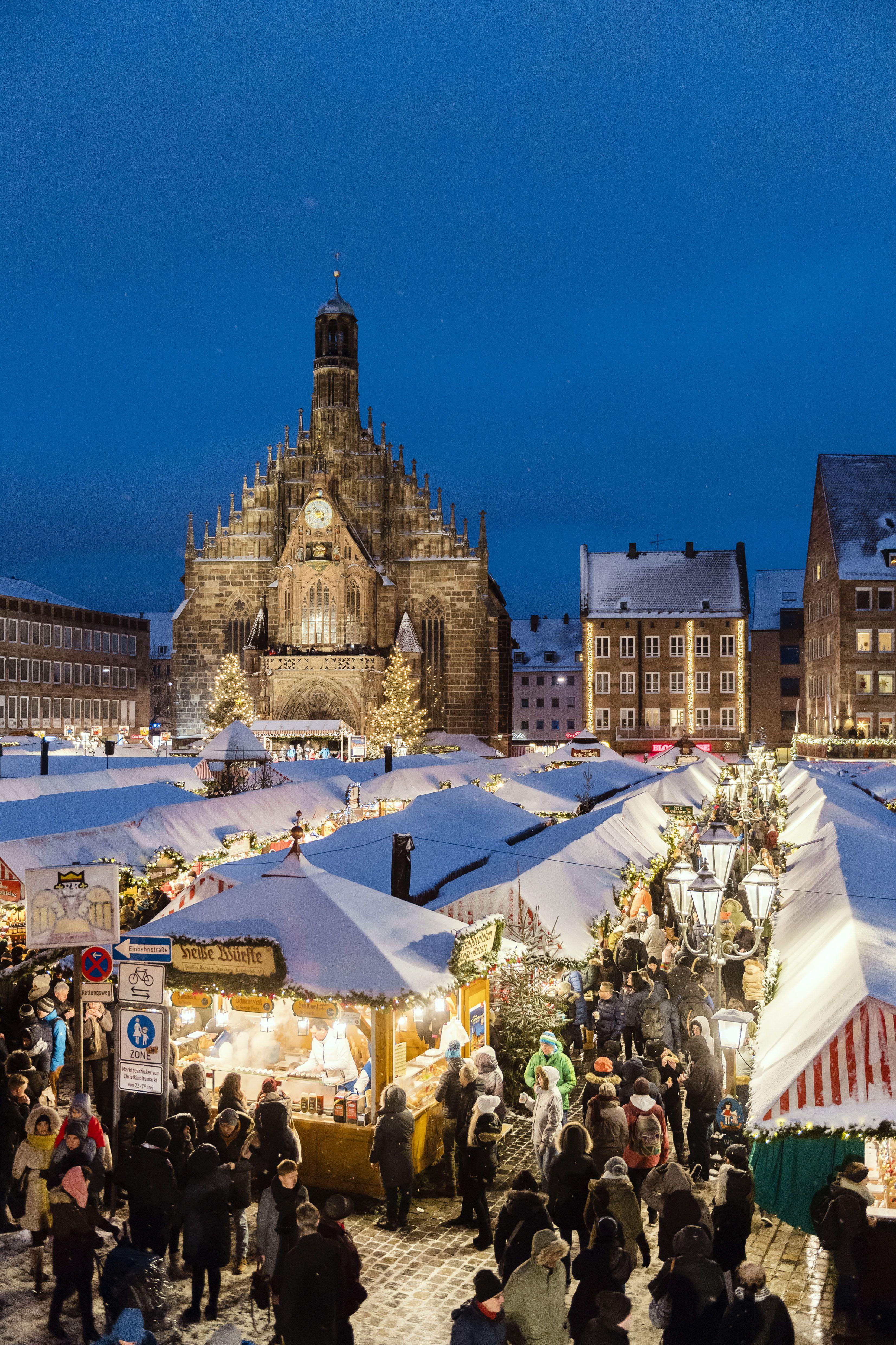 Christkindlesmarkt Christkindlesmarkt, Nürnberg, Deutschland
