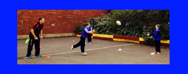 A P5 class at St. Matthew's Primary School in the Short Strand, have just completed a six week... now live on WWW.INTOUCHRUGBY.COM