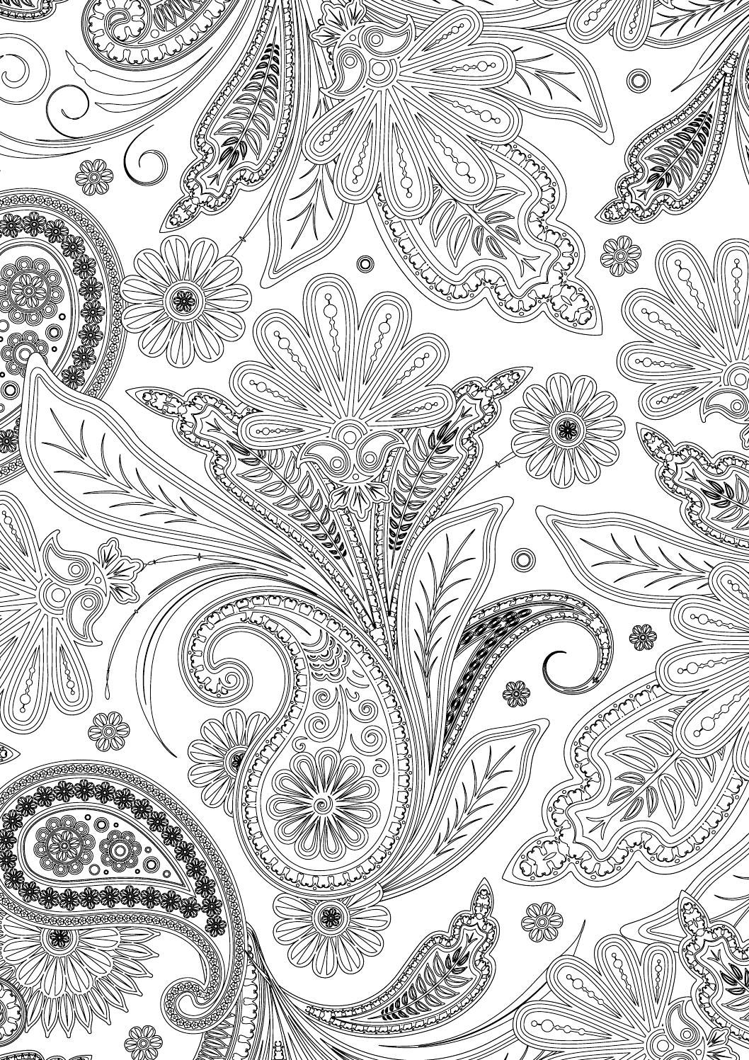 Indiski rastai geometric mandala newspaper and patterns