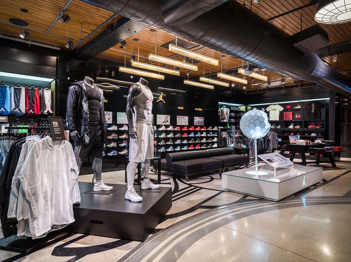 Https Www Behance Net Gallery 32500131 Niketown New York 5th Floor Remodel Utm Medium Email Floor Remodel Remodel Flooring
