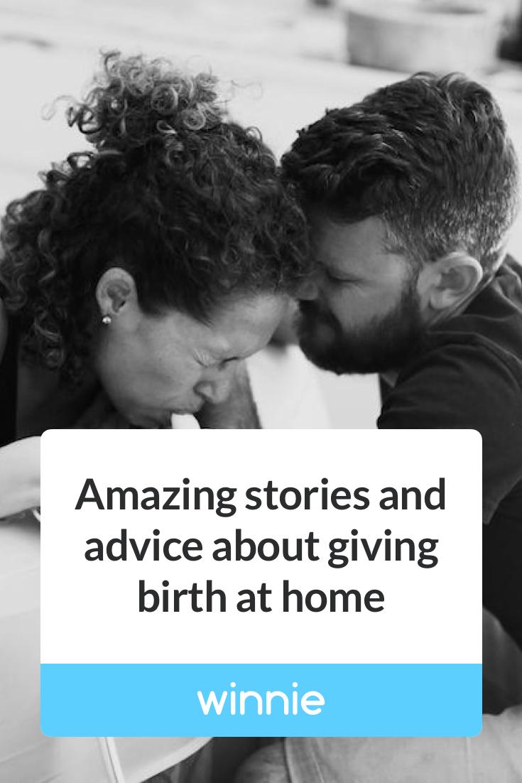 Anyone give birth at home?   Birth, Life, Baby wearing