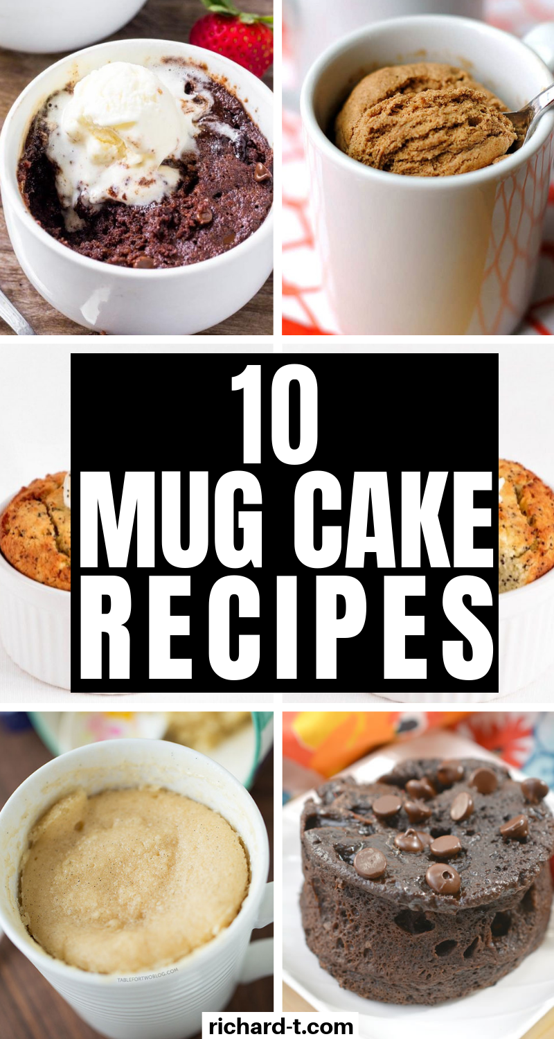 10 Of The Best Mug Cake Recipes | Best mug cake recipes ...