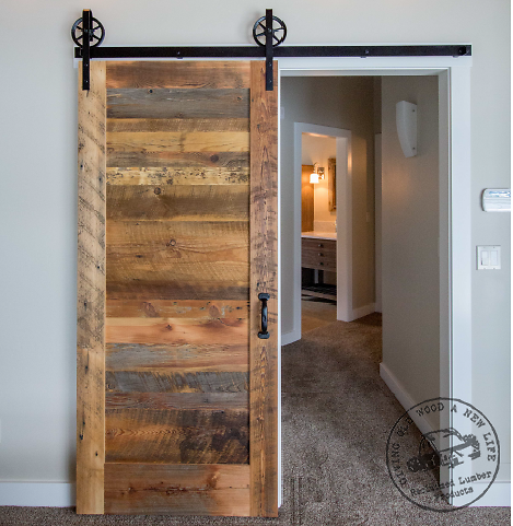 Reclaimed Wood Barn Door Slab Reclaimed Lumber Products House