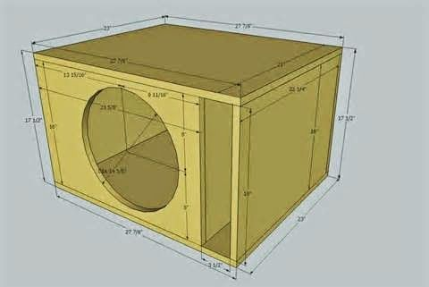 Cara Membuat Speaker Aktif Cara Merakit Speaker Aktif Membuat Speaker Aktif Speaker Aktif Terbaik Spea Subwoofer Box Design Subwoofer Box Diy Subwoofer Box