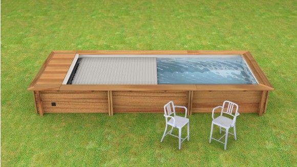 Piscine urbaine avec couverture automatique - Couverture piscine automatique prix ...